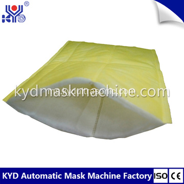 Utama Kecekapan Pocket Air Filter Bags Machine