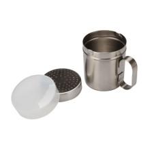 Agitador de polvo caliente con tapa de plástico