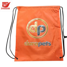 Pratique Recycler Promotionnel Polyester Cordon Sac