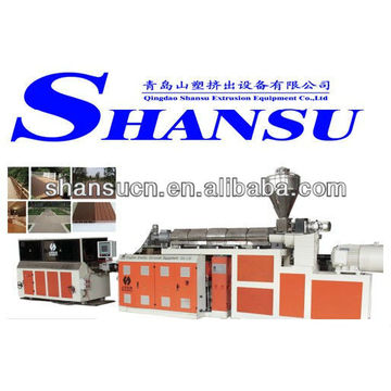 Wood Plastic Composite WPC Profile Machine