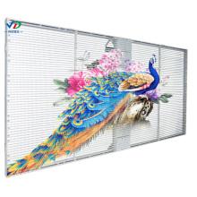 PH3.96-7.81Transparenter Bildschirm mit seitlicher Beleuchtung 1000X500mm