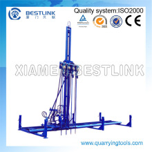 Pneumatic Mobile Rock Drill for Horizontal Drilling