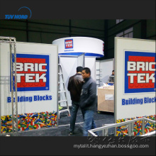 20FT TRUSS EXHIBITION BOOTH trade show booth round exhibition booth design 3x6