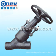 "1""Y Type Forged Steel Globe Valve (YJ21H)"