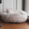 Cama de gato e cachorro de luxo Donut Fur Donut
