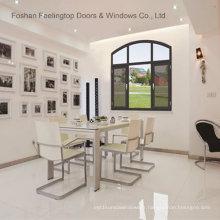 Fenêtre à battants en aluminium à double vitrage à haut rendement énergétique (FT-W70)