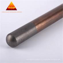 Alliage d'électrode de tungstène de cuivre de haute qualité