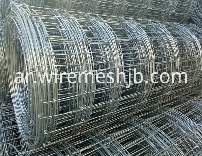 Woven Wire Farm Fence