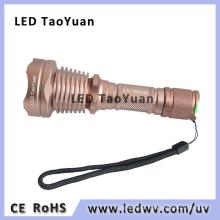 UV LED Flashlight High Power LED Torch 365nm 3W Ultraviolet Light