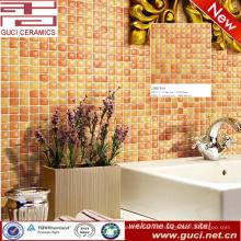 Fábrica de China Azulejos de mosaico de cerámica de pared de cocina naranja