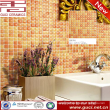 china factory Orange kitchen wall ceramic mosaic tiles