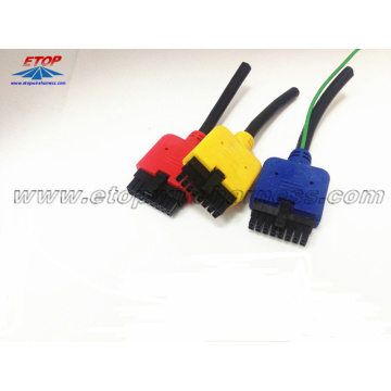 Diadaptasikan 3.0pitch 16Pin Male Connector