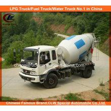 Betonmischer-LKW 4X2 kleiner Betonmischer-LKWs 4m3 5m3