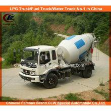 Бетономешалка для бетоносмесителей China Foton 4X2 6cbm Бетономешалка для бетона 5cbm