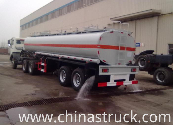 2 axle HCL tank semi-trailer