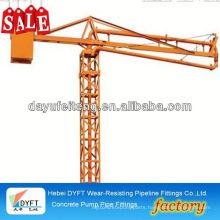 portable man lift FTH12-15-18m concrete placing boom concrete spreader manufacturer
