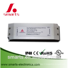 Transformateur dimmable du triac 24v 45w avec 110v ~ 277vac