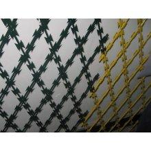 Arame farpado de navalha/arame farpado galvanizado / cercas de arame farpado
