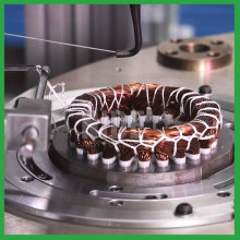 Stator coil lace machine lacing machine