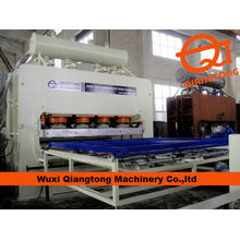 vacuum laminating hot press for particle board