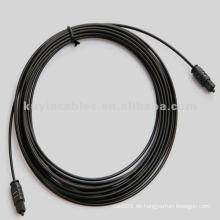 Digital Optisches Audiokabel - Geformt - M / M, 16FT / 5 M, Schwarz
