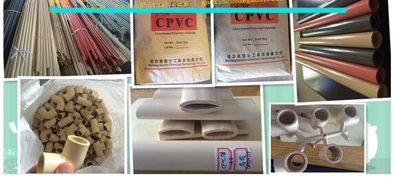 CPVC Resin And Compound For Pipes Fittings