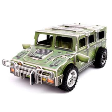 Kids Inertia-Sliding Cars Puzzle Model