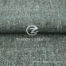 Tejido 100% Poly Herringbone de lino Mini mate para el uniforme, el sofá y la ropa de trabajo formales (ZCRZ31380)
