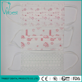 3ply Medical Consumable Non-Woven Printing Face Mask
