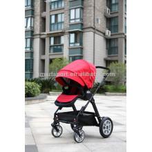 Новейшая детская прогулочная коляска с 600D полиэфирной фабрикой