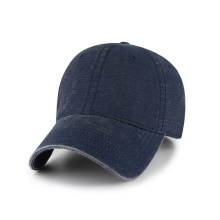 bamboo canvas with metal buckle baseball cap