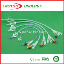 Henso Disposable Medical Silicone Foley Catheter