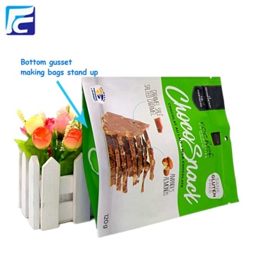 Aluminum laminated foil stand up pouches for food