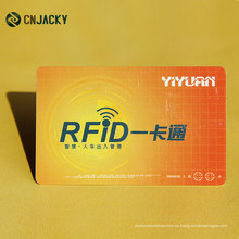 Car Parking RFID Card / Matte Laminate Car Beauty Card