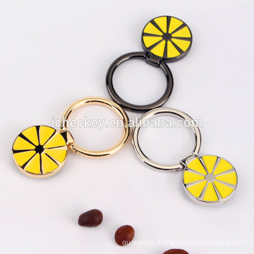 New design lemon series recycling mobile phone ring stand holder