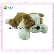 Brinquedo macio peluche do bebê do cão do bebê