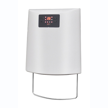 Wall bathroom fan heater with IP22