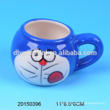 Lovely ceramic cat pudding cup