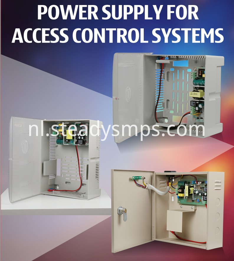 Access Control Systems Power Supply