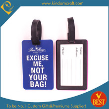 2014 Custom Square Shape Airway PVC Luggage Tag