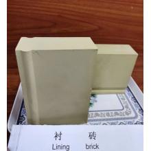 Alumina lining brick heat resistant ceramic brick