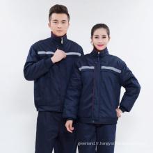 Vêtements de travail sur mesure vêtements unisex industriels portant des snickers avec un journal OEM pour la qualité supérieure en gros