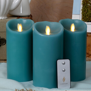 moving wick wax flameless candles