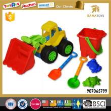 Wholesale beach toy car with bucket