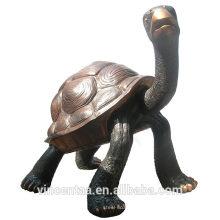 высокое качество бронзовая маленькая водная черепаха скульптура/металл черепаха/бронзовый черепаха