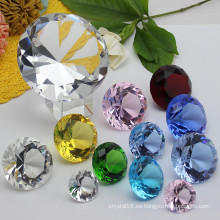 Crystal Glass Diamond Craft para regalo de boda Souvenir