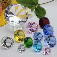 Artisanat de diamant en verre de cristal pour le cadeau de mariage Souvenir