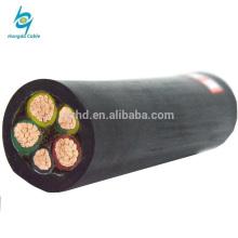 гибкий медный силиконовой резины изолированный стальной провод бронированный медный электрический кабель питания