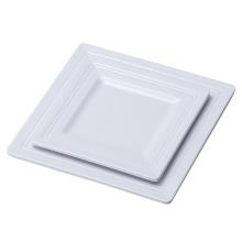 """100% vaisselle de mélamine de 5 """"/ plat de rectangle de mélamine / plat de dîner (4132)"""