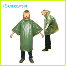 Poncho de lluvia disponible desechable del PE del regalo